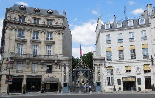 Le Ministère de l'intérieur place Beauvau