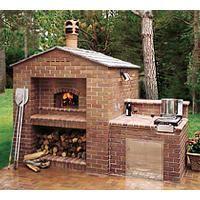 Medio outdoor oven from Mugnaini Imports