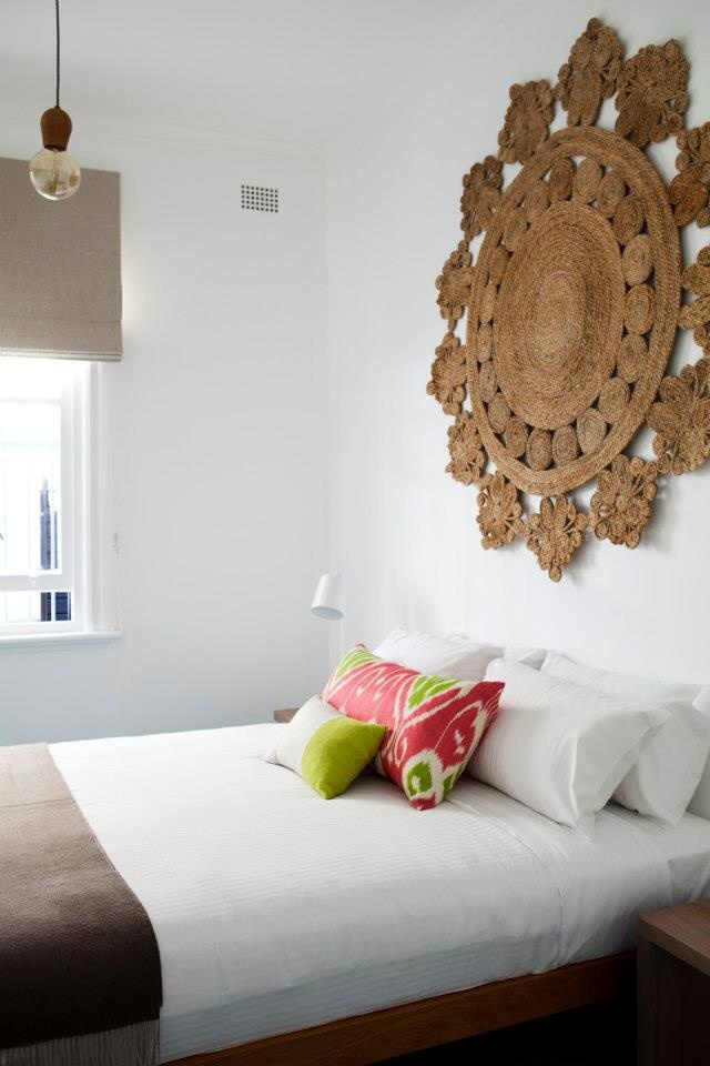 Bedroom by Robert Plumb featuring an Armadillo Marigold rug | Armadillo & Co: www.armadillo-co.com