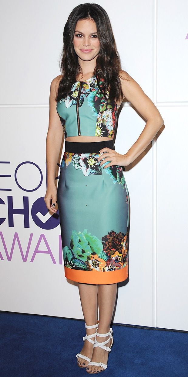 Rachel Bilson At People's Choice Awards Nominations Event wearing Milly