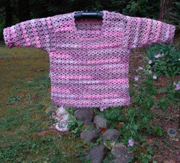 Pullover Sweater of Baby – PB-109 – A crochet pattern from Nancy Brown-Designer. This sweet baby sweater is a quick and easy project that is sized for 6, 12, 18 and 24 months. This pattern PDF can be purchased at my LoveCrochet Pattern Store for $3.49, just click on the photo.