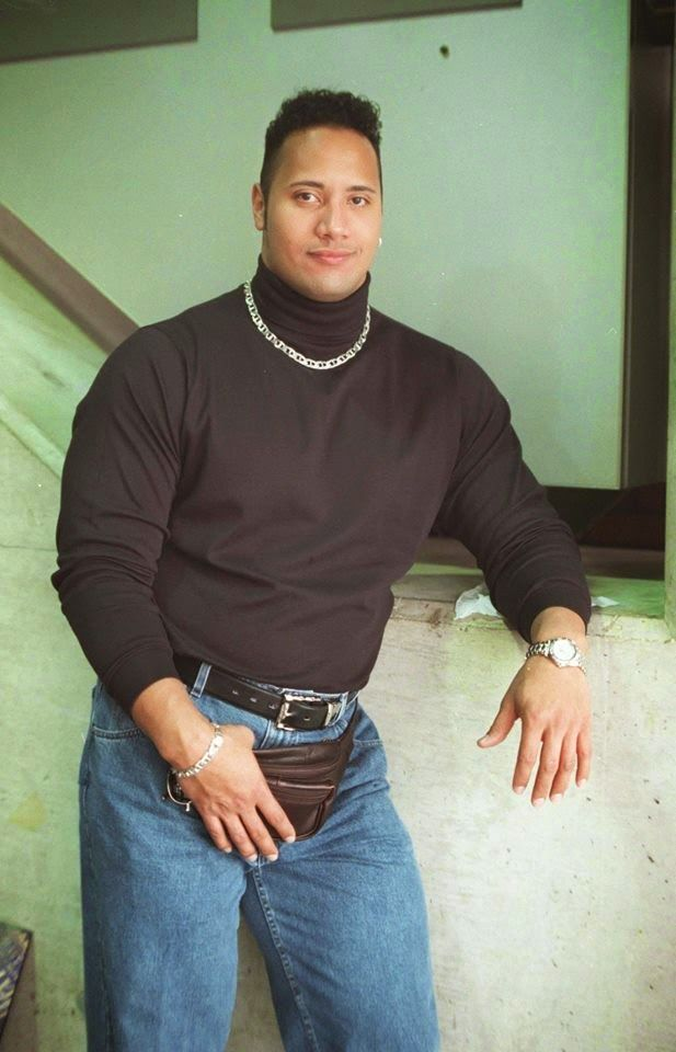Old School Dwayne Johnson -The Rock.