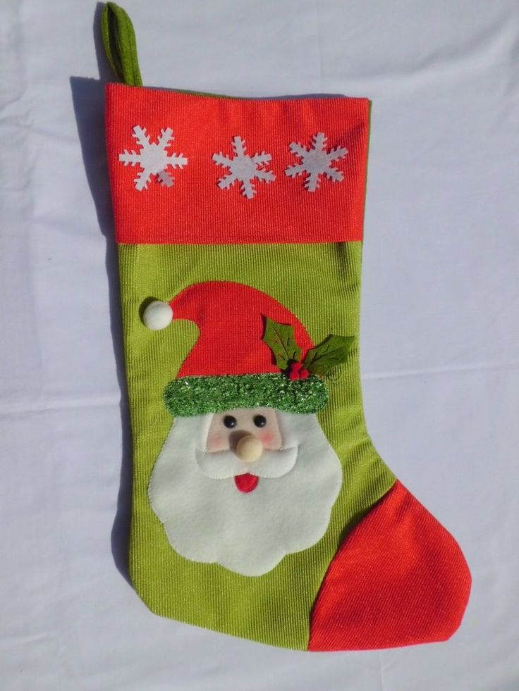 Christmas Tree Ornaments----Christmas Stocking/ Gift Sock/ Joyful Sock #Unbranded