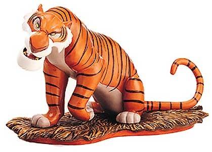 The Jungle Book - Shere Khan - Eveyone Runs from Shere Khan - Walt Disney Classics Collection - World-Wide-Art.com - $145.00 #WDCC #Disney