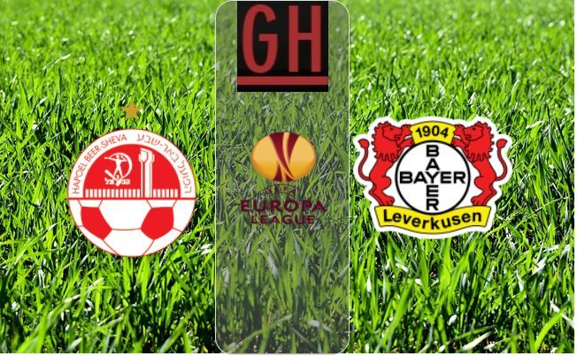 Hapoel Beer Sheva Vs Bayer Leverkusen Uefa Europa League Highlights Be Er Sheva Europa League Football Highlight