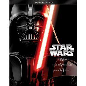 Star Wars Trilogy: Episodes IV-VI [6 Discs] [Blu-ray/DVD]