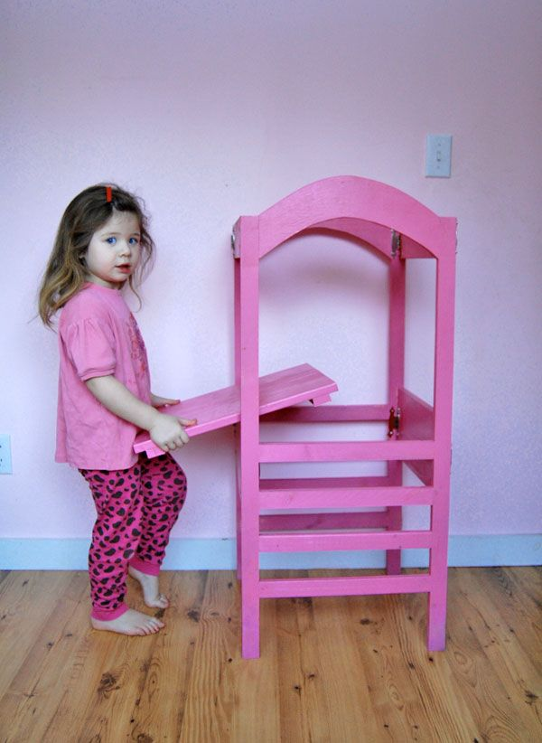 The Littlest Helper Tower Woodworking For Kids Learning