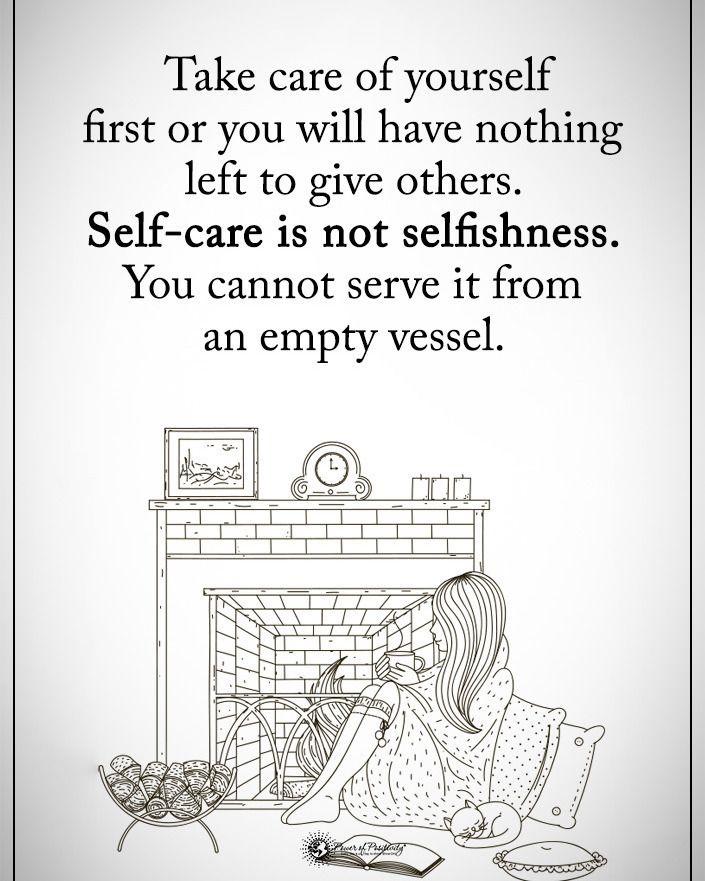 """14.8 χιλ. """"Μου αρέσει!"""", 167 σχόλια - Positive + Motivational Quotes (@powerofpositivity) στο Instagram: """"Tag someone who needs to read this. Take care of yourself first or you will have nothing left to…"""""""