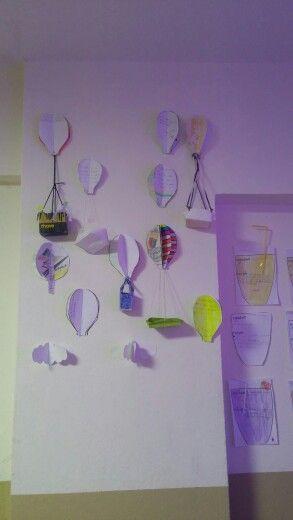 Air balloon project. If I had an air balloon, I would go...see...