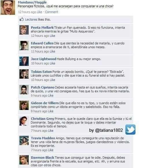 Chistes Literarios - En Facebook - Wattpad