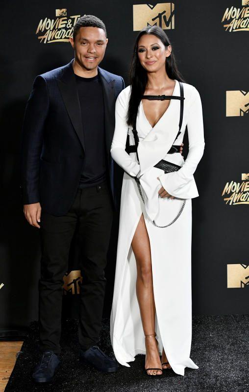 Trevor Noah 2017 MTV Movie & TV Awards - 2017 MTV Movie & TV Awards red carpet