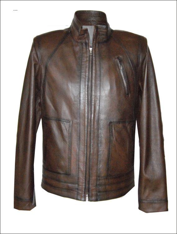 Ανδρικό δερμάτινο μπουφάν Μοντέλο: SL-11 Δέρμα: nappa tamponatto Τιμή: 325€