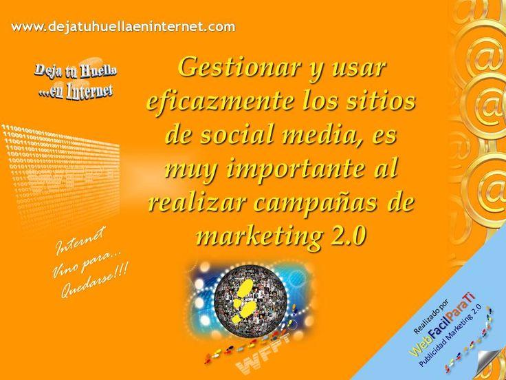 Es escencial aplicar efectivas estrategias de marketing 2.0 para realizar promociones de máximo impacto a través de Internet