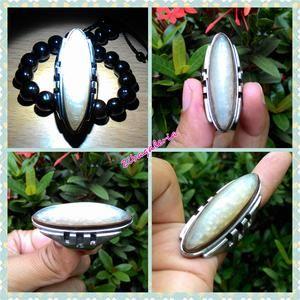 Cincin Permata Bio Pandan Kapas HQ I CN0059 I Ring Stainless Size 7