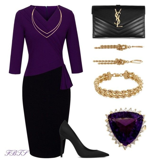 Amethyst Dreams by flybeyondtheskies on Polyvore featuring Yves Saint Laurent, Charter Club and Lana