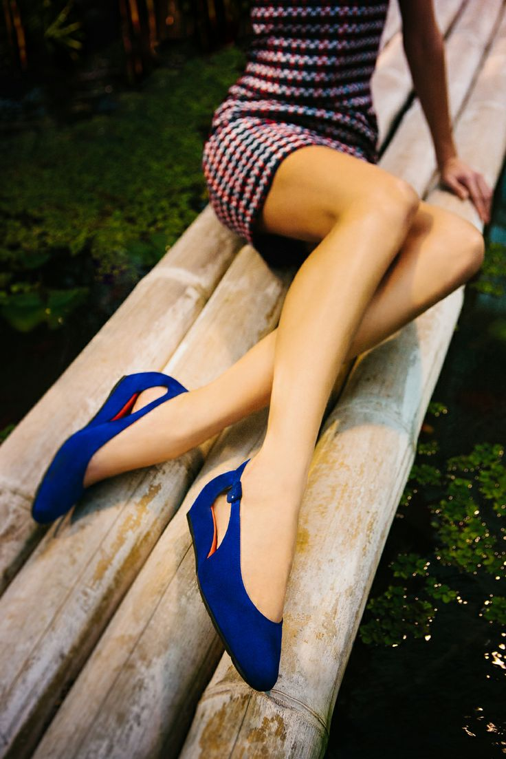 Electric feel .. One of the most beautiful flats Pas de Rouge did this year