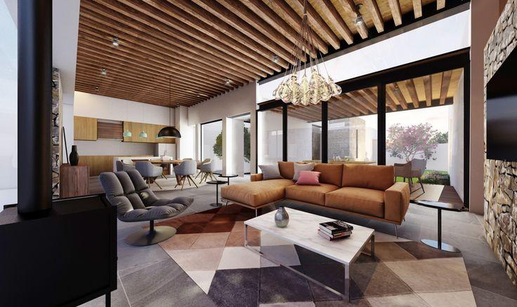 Lomas 444 | Dionne Arquitectos | #Architecture #Livingroom #Interior