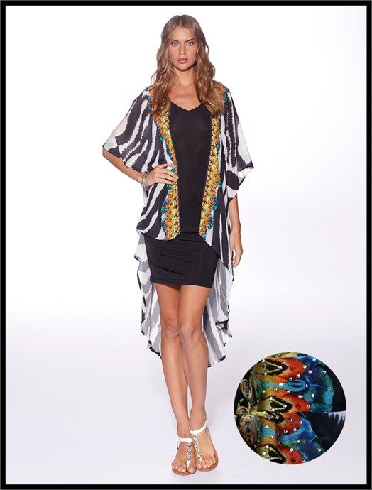 Tanzania Cover Up by Honey & Beau at Village Chic - $124.95 AUD