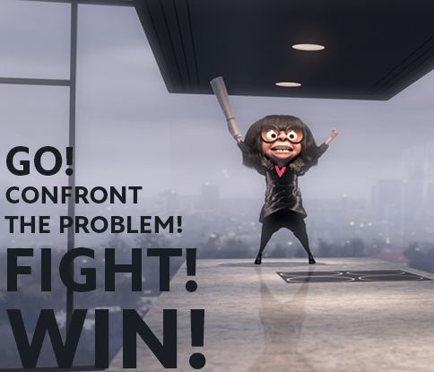A little #MondayMotivation, courtesy of Edna Mode