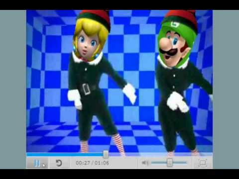Mario Elf Yourself FUN for students to dance with as a brain break!