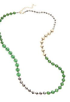 R.J. Graziano Colored Bead Long Necklace