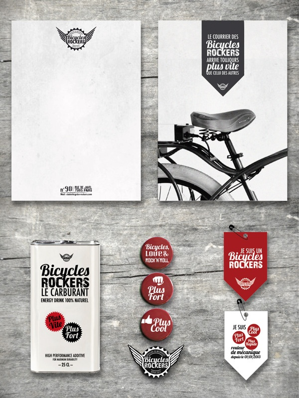 Bicycles Rockers by Marion Dufour, via Behance
