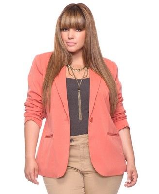 Lingerie: Exotic Blazers For Plus Size Women's Ideas