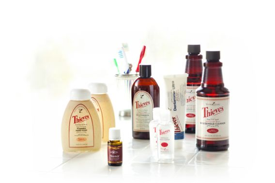 Baby Steps to Essential Oils - Young Living Thieves Products