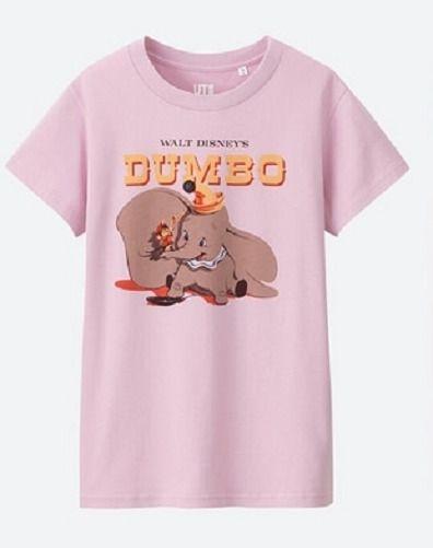 ec2f69054 Disney / UNIQLO Art Poster Womens T-shirt Dumbo Movie Timothy Mouse L XL  2XL 3XL #UNIQLODisney