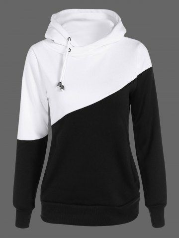 GET $50 NOW | Join RoseGal: Get YOUR $50 NOW!http://m.rosegal.com/plus-size-hoodies/two-tone-plus-size-jumper-835768.html?seid=7313285rg835768