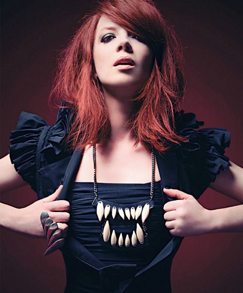 Shirley Manson. This woman can do no wrong as far as I am concerned.