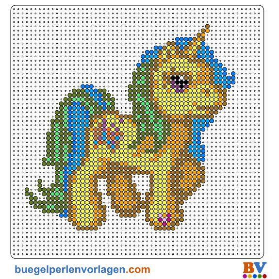 My Little Pony Bügelperlen Vorlage Sticken Bügel Bügelperlen