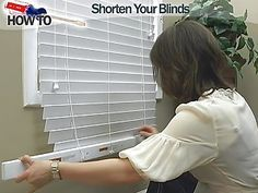How to Shorten Window Blinds - Wood and Faux Wood - Video DIY Tutorial from Blinds.com