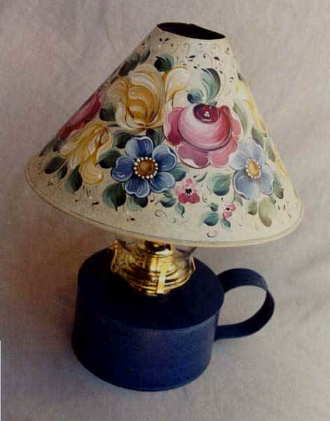 FREE Pattern - Bauernmalerei , Decorative Painting Pattern - Lampshades