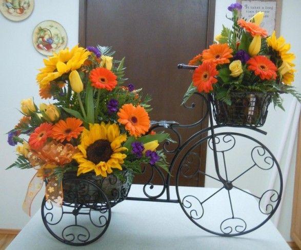 Best ideas about sunflower table arrangements on
