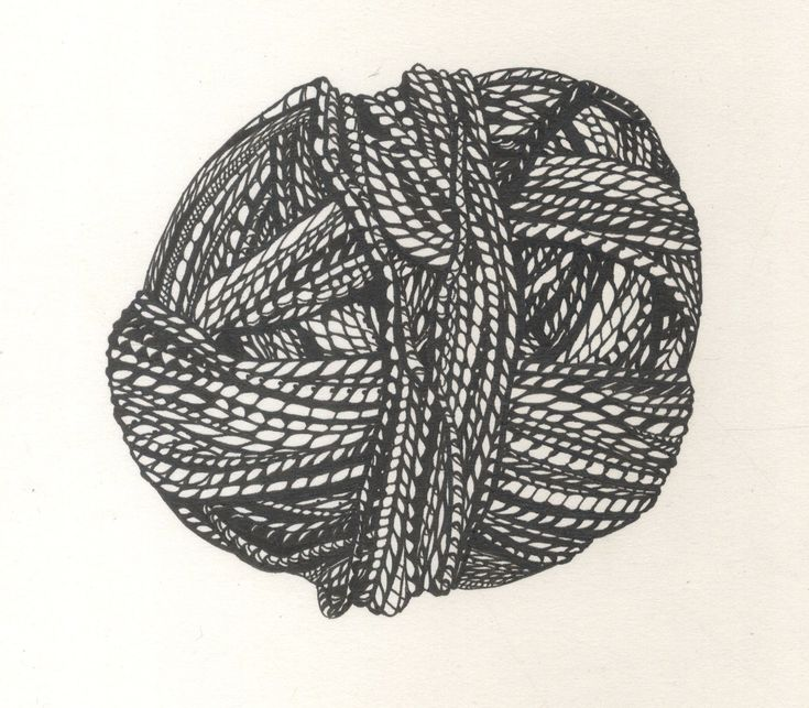 Drawing Knitting Pattern : Best images about yarn drawings on pinterest crafts