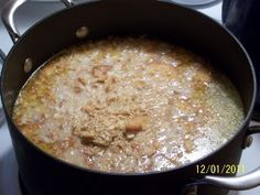 Chicken Mull. Boil your chicken breasts and shred. I usually use around 3 or 4. My recipe calls for one stick of butter, and a gallon of milk. After you shred your chicken, add the butter and milk. Bring to a boil and simmer for 30 minutes. Add saltines and Texas Pete. A great meal for the colder months.