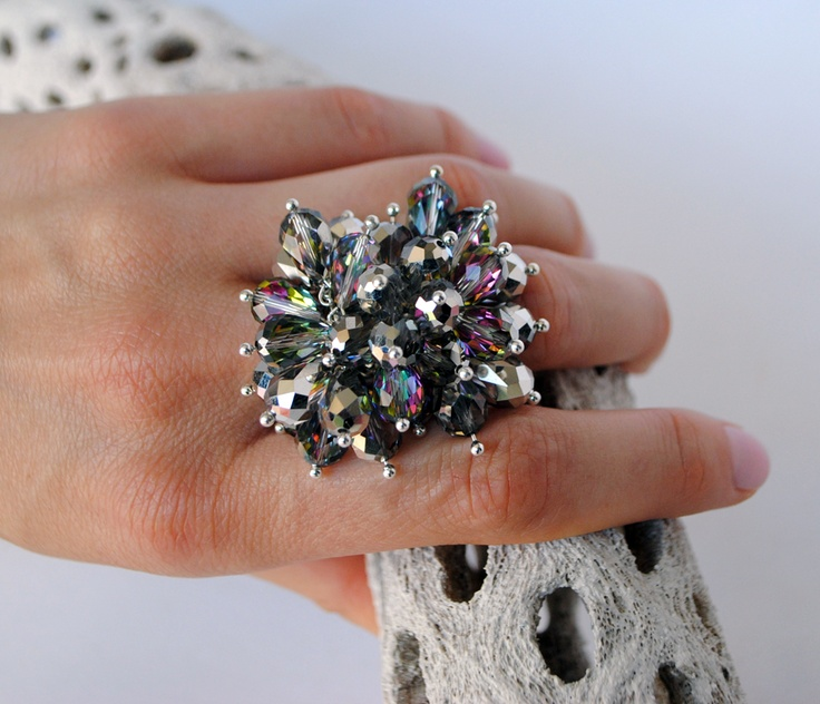 www.GemBoutique.ca  Striking cocktail ring! $52
