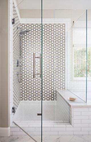 Elevations 2 5 x 10 in white non irid and tessera fez for Fez tiles