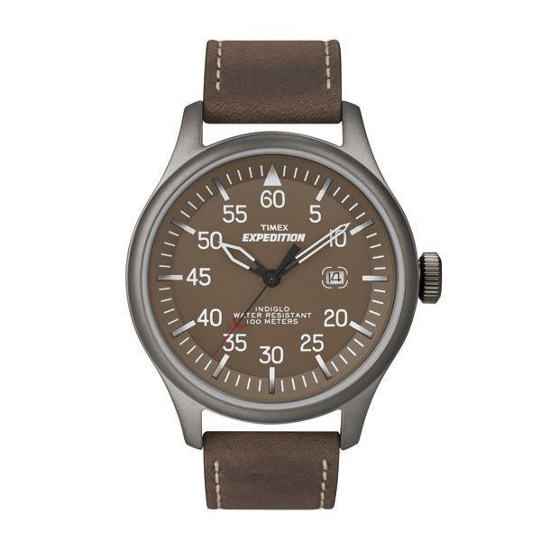 Montre Timex Expedition T49874D7 - Montres et Plus #sport  #accessoire #marron #aventure