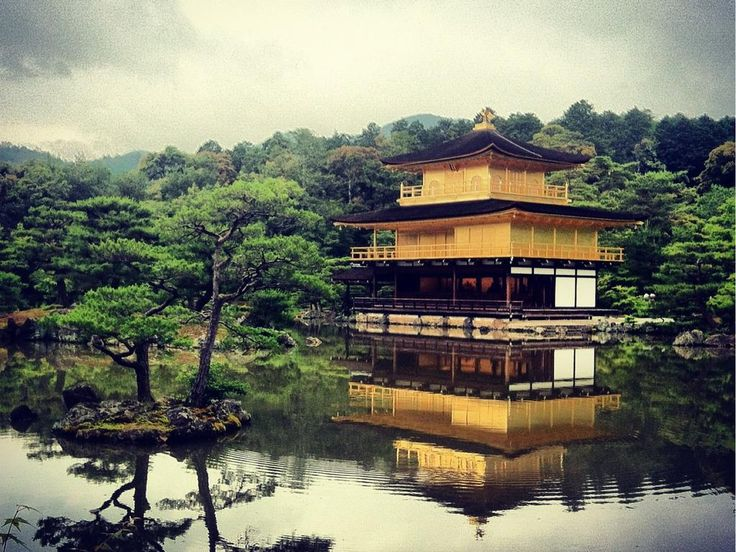 Temple of the Golden Pavilion (Kinkakuji) - Kyoto, Japan Temple of the Golden Pavilion (Kinkakuji) -- a stunning and historical attraction in Kyoto, that's definitely worth paying a visit to if you're in town.