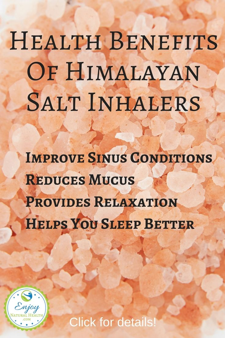 If you suffer with asthma, allergies, breathing issues, sinus congestion or sore throat, it's time to look into getting a Himalayan salt inhaler and give it a try. You'll be surprised at the AMAZING benefits of using salt therapy.