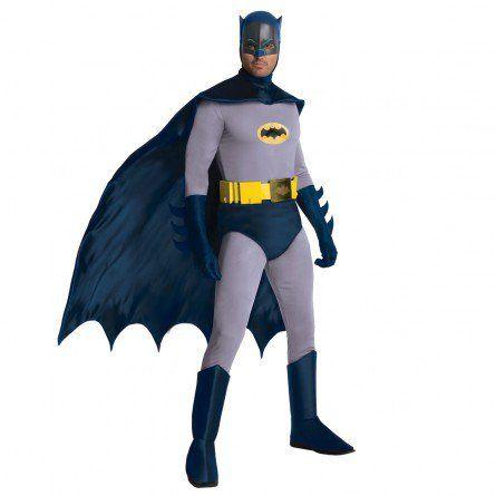 Mens 60s Classic Batman Costume