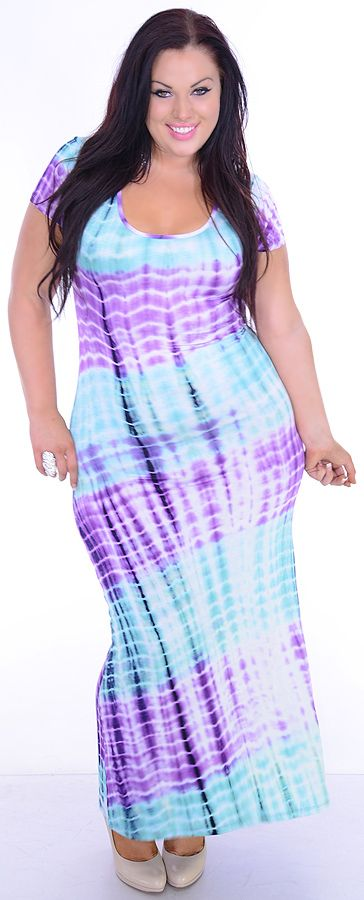 It Is For Her (Plus/Mint/Purple)-Great Glam is the web's best sexy plus size online store clothing website for 1X 2X and 3X clothes for women and juniors.