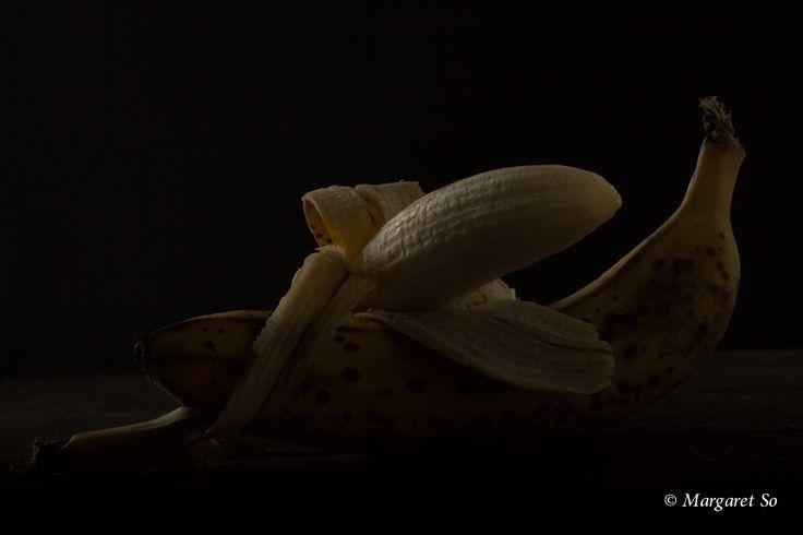 Happy Bananas at night