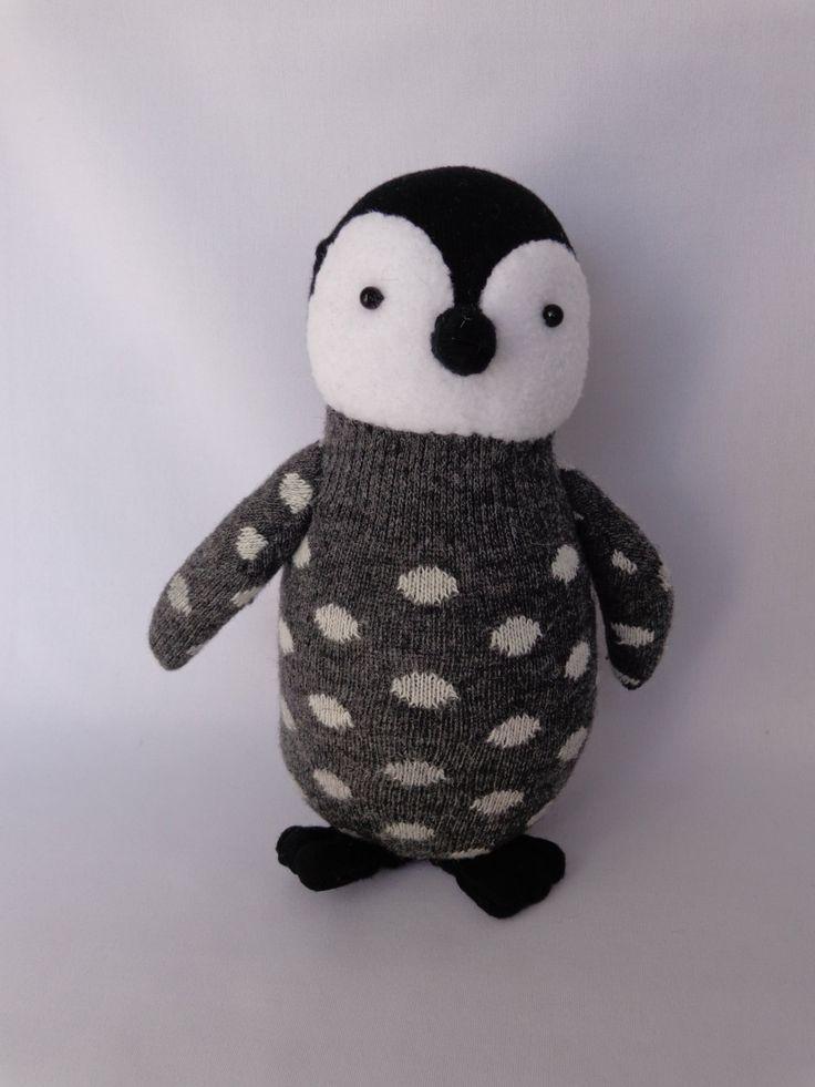 Poussin manchot empereur en peluche peluche pingouin