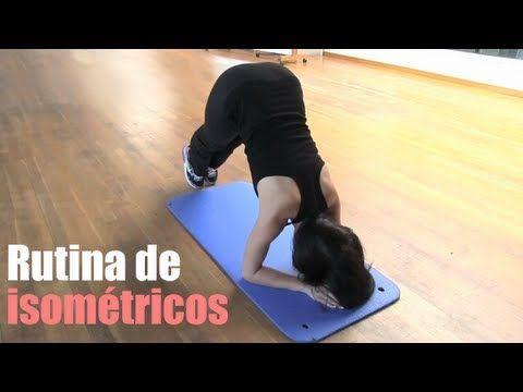"""""""Sacar abdominales"""" Ejercicios de abdominales isométricos - YouTube"""
