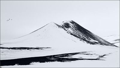 Iceland, landscape, photography, nature, travel, Images Beyond Words, Serge Daniel Knapp, winter, mountains, painted, hill, black and white, birds, art