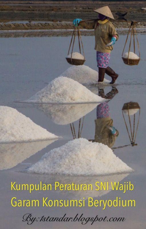 Ebook Kumpulan Peraturan SNI Wajib Garam Konsumsi Beryodium