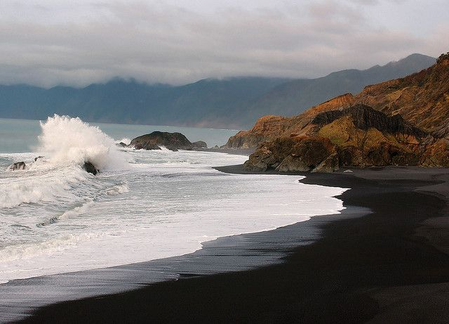 Black Sands Beach, Humboldt County, CA